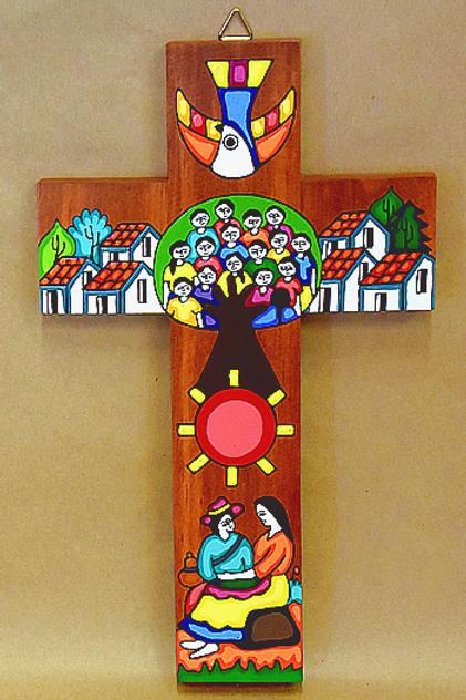 El Salvador - Tree of Life Cross
