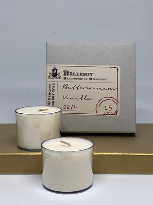 Buttercream and Vanilla Candles - Bellesoy