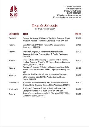 Parish Schools