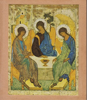 The Trinity Andrei Rublev c1411