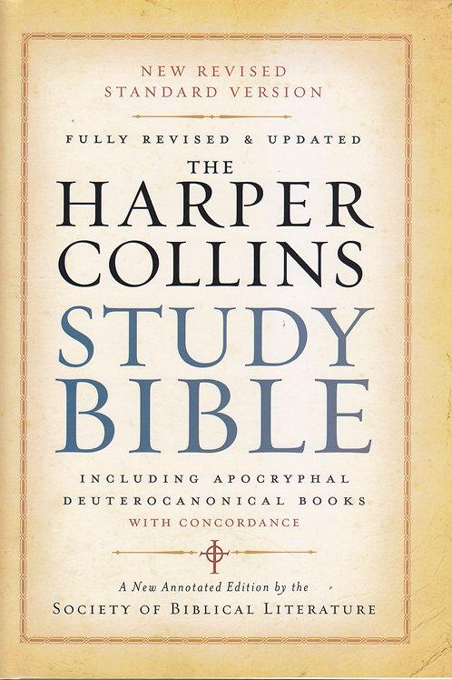The NRSV HarperCollins Study Bible (Hardback)