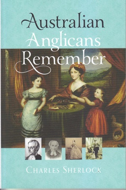 Australian Anglicans Remember