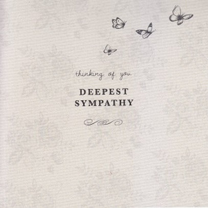 Sympathy Card - Picture Palace