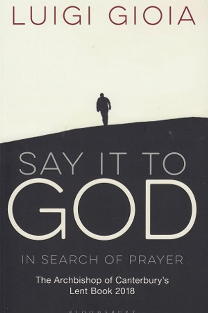 Say it to God