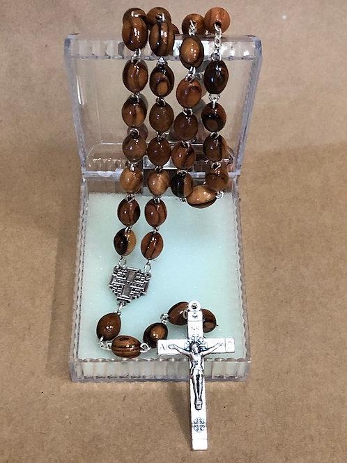Olive Wood from Bethlehem Rosary
