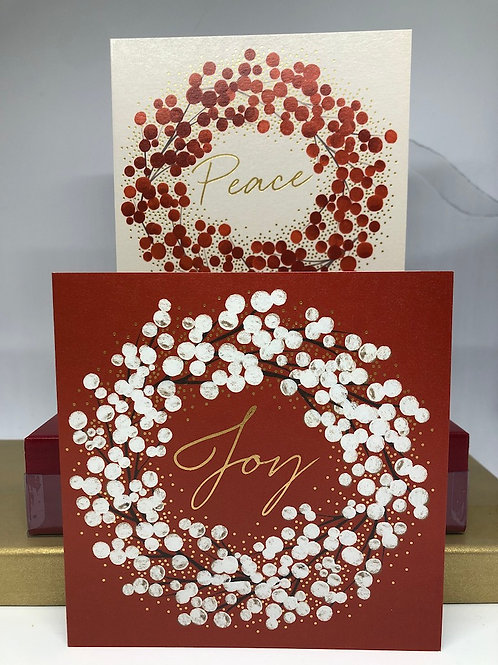 Joy and Peace Cards NEW!