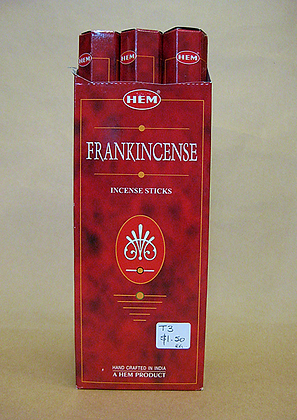 Tube Single Frankincense Incense Sticks