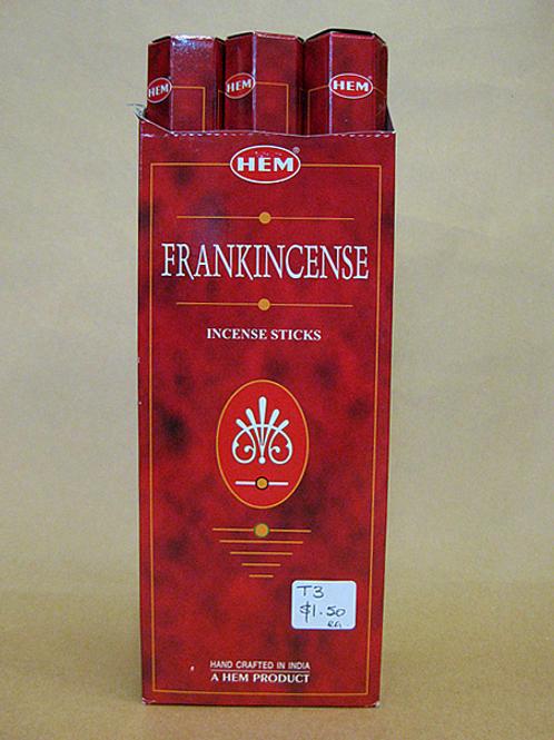 Tube Single Frankincense Incense Sticks