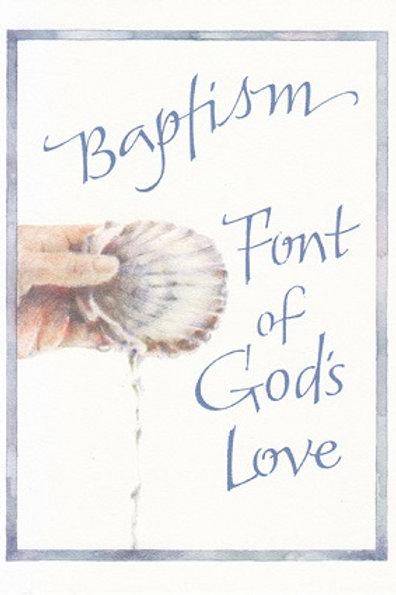 Baptism Font of God's Love