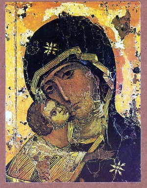 Virgin of Tenderness of Vladimir (Large)