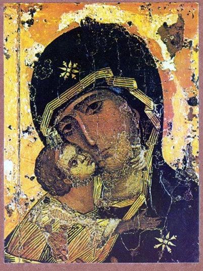 Virgin of Tenderness of Vladimir (Large)