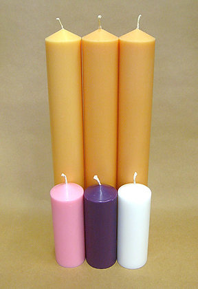 2 inch (54 mm) diameter candles