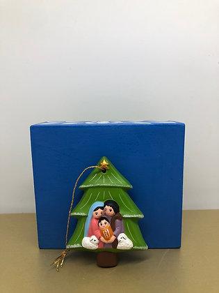 Christmas Nativity Tree from Peru