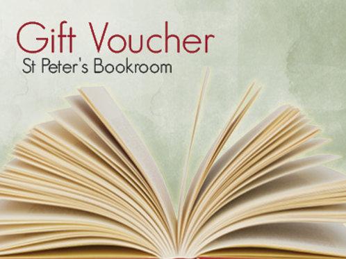 St Peter's Bookroom Gift Voucher