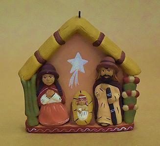 Peru Nativity Plaque