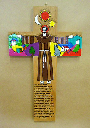El Salvador - St Francis Cross