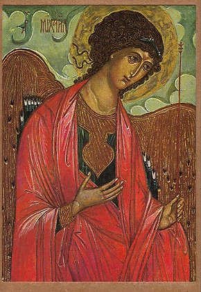 St Michael Andrei Rublev Russia 15th century