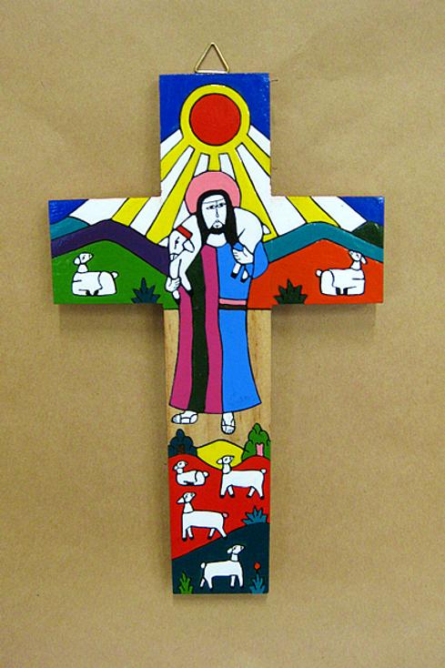 El Salvador - Good Shepherd and Sun Cross