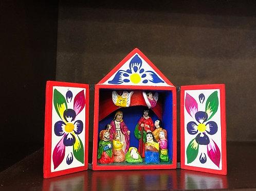 Nativity in a Matchbox from Peru