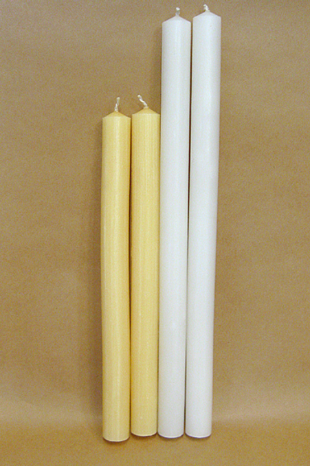 1 inch (25 mm) diameter candles