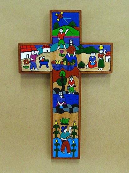 El Salvador - Workers Cross