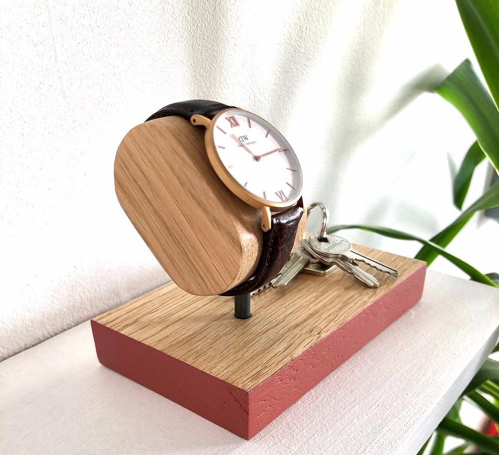 porte-montre avec vide poche