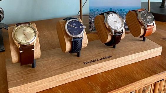 Ponctuel(le) chez vous - collection de montres