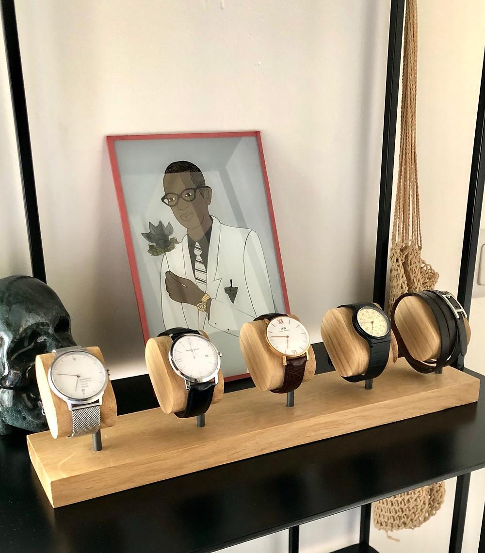Boite à montres ou porte-montres : un choix  difficile ?