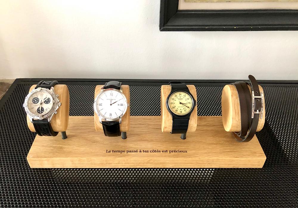 Une boite à montre : un cadeau personnalisé