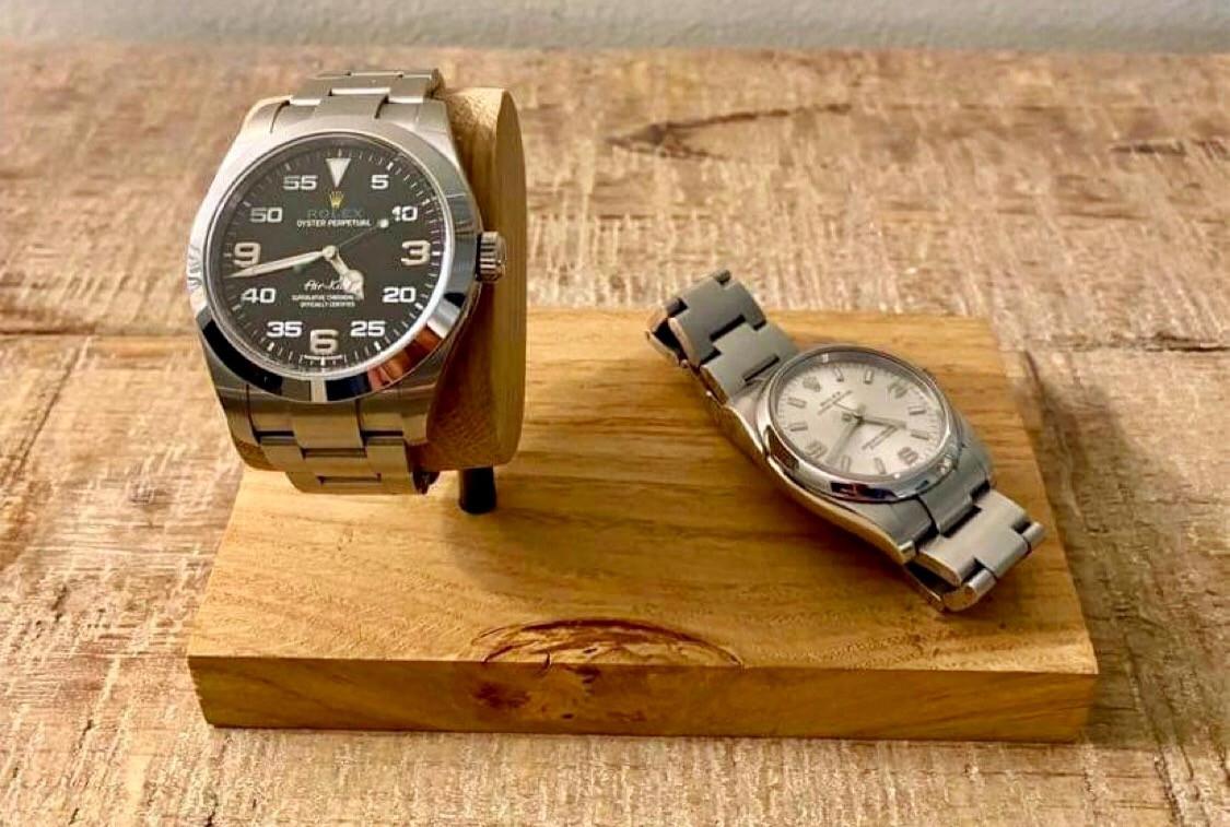 Ponctuel(le). chez vous, Porte montres Rolex