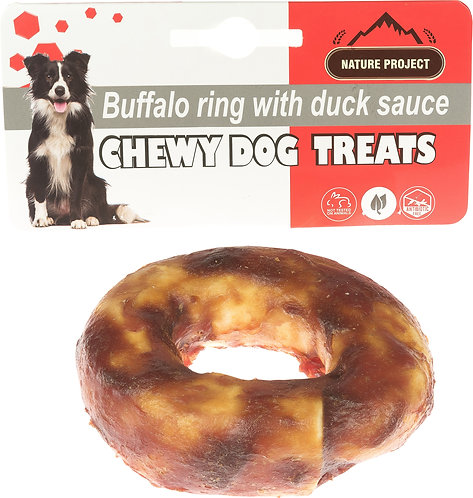 Buffalo ring with Duck sauce