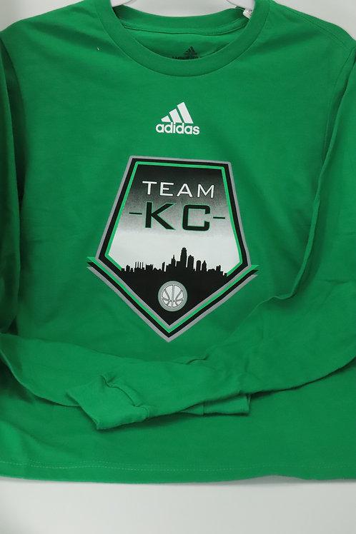 Team KC Adidas Long Sleeve Amplifier Tee Shirt