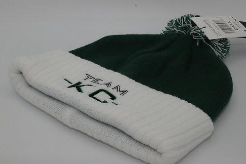 """Adidas Team KC Beanie """"Green& White"""""""