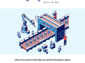 Ultra-Processed Foods May Accelerate Biological Aging