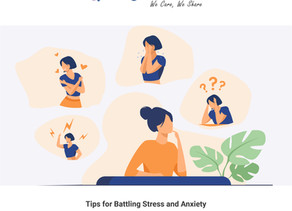 Tips for Battling Stress and Anxiety