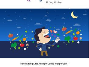Does Eating Late at Night Cause Weight Gain?