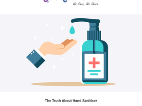 The Truth About Hand Sanitiser