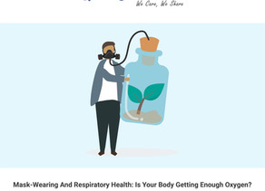 Mask-wearing and respiratory health: Is your body getting enough oxygen?