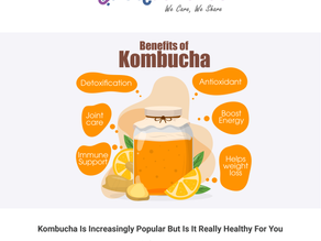 Kombucha Is Increasingly Popular But Is It Really Healthy For You