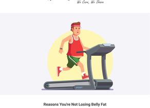 Reasons You're Not Losing Belly Fat