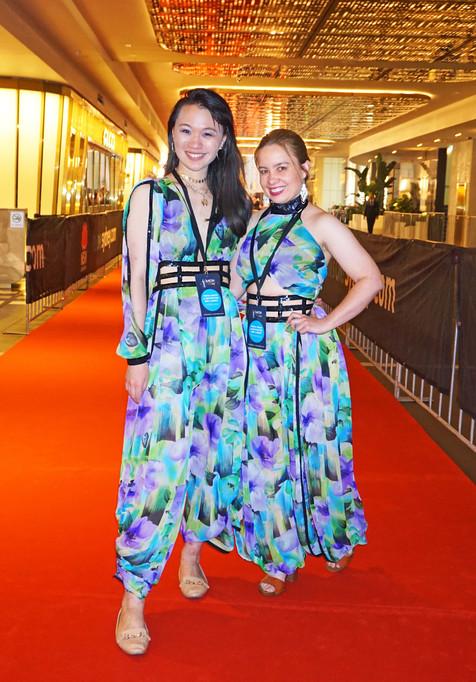 Jenny Hu (Left) Sharna Lovel (Right)