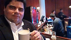 Um cafezinho depois da palestra