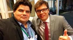 Com o Gerente do SCUP Brasil