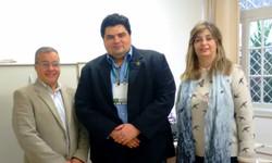 Com os Diretores Marcelo e Lidice MACKENZIE