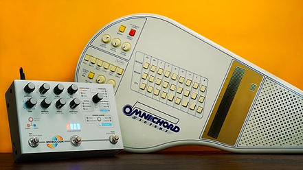 Effects Pedal and Omnichord
