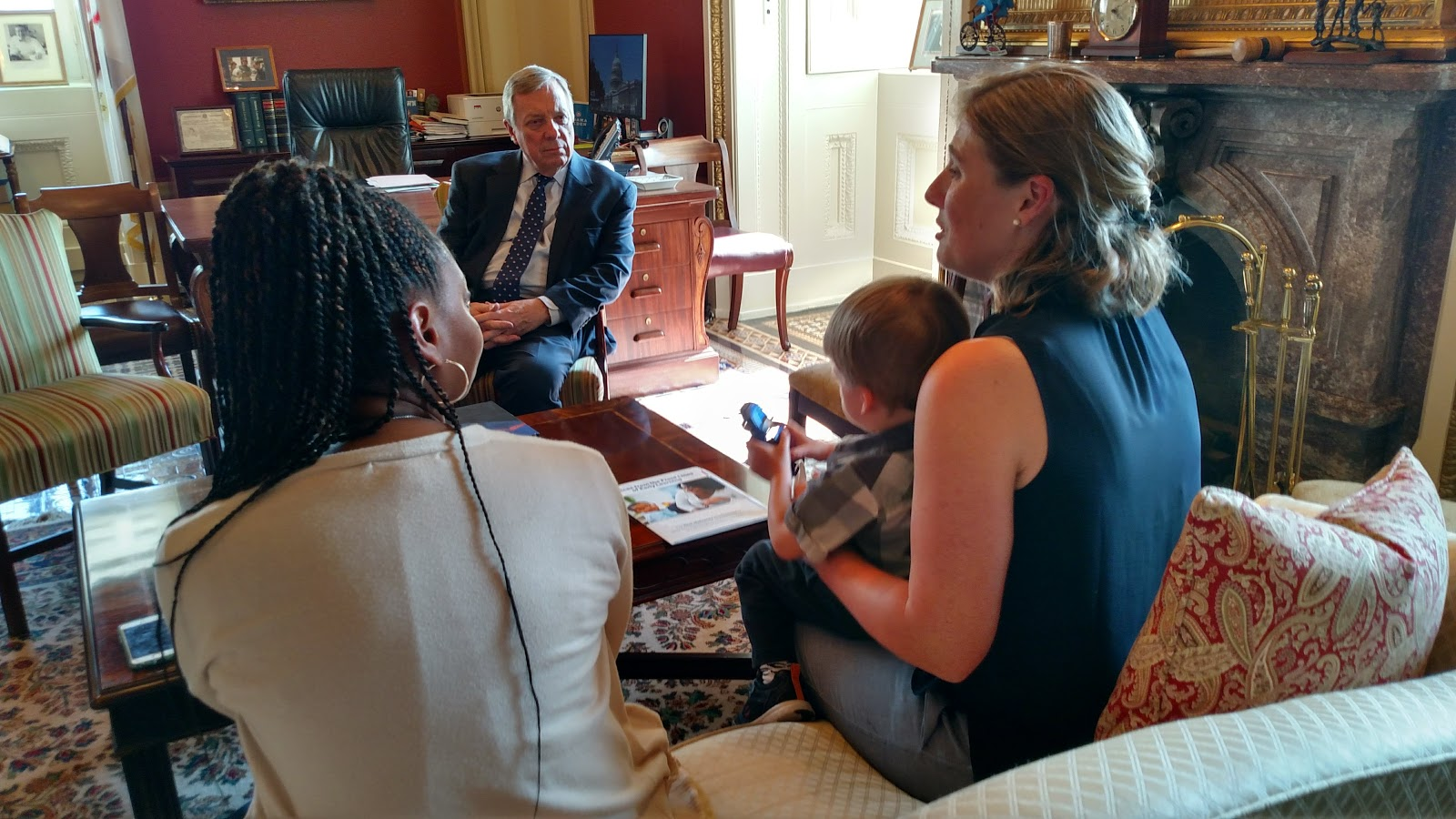 Meeting with Senator Dick Durbin
