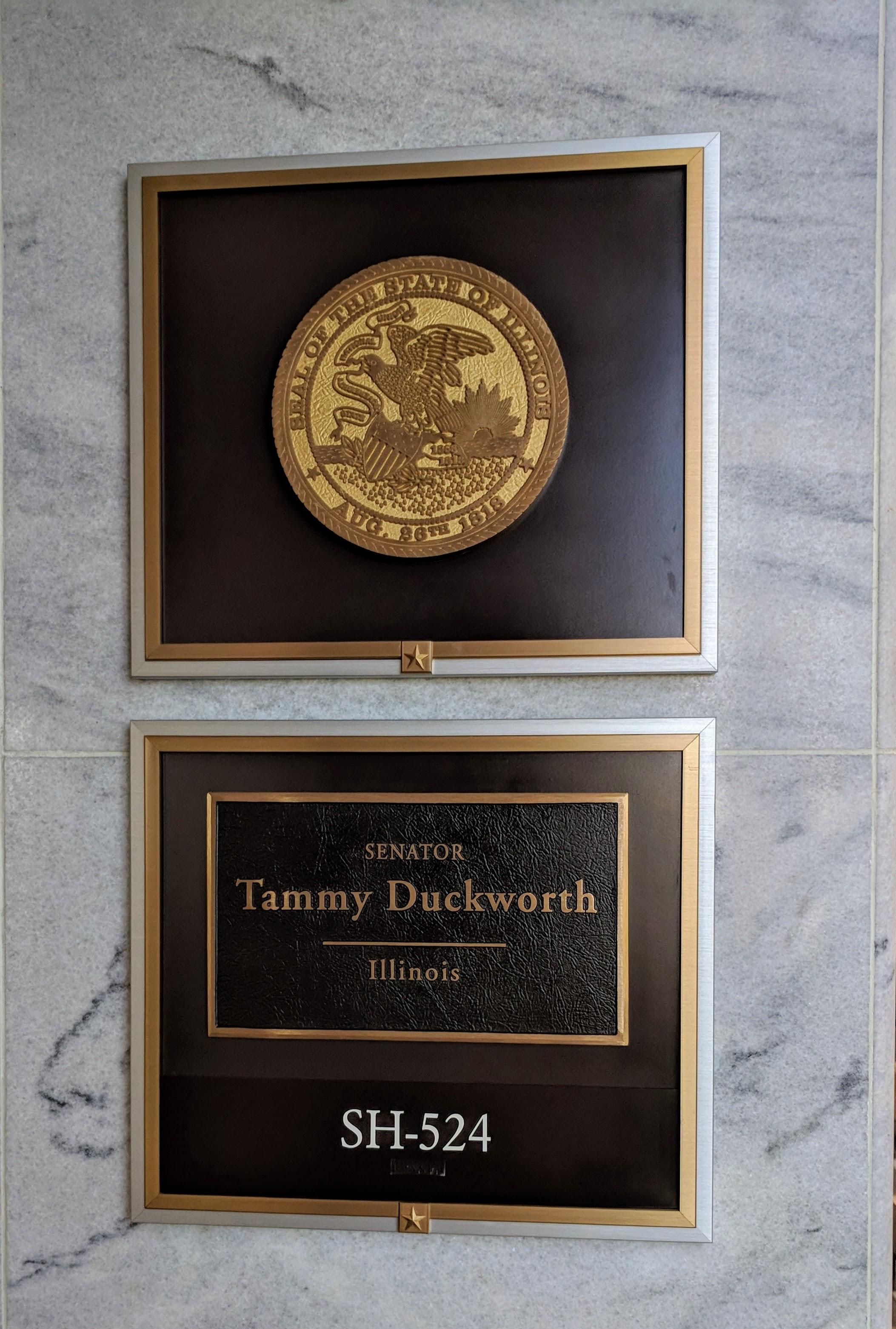 Meeting with Senator Duckworth's staff