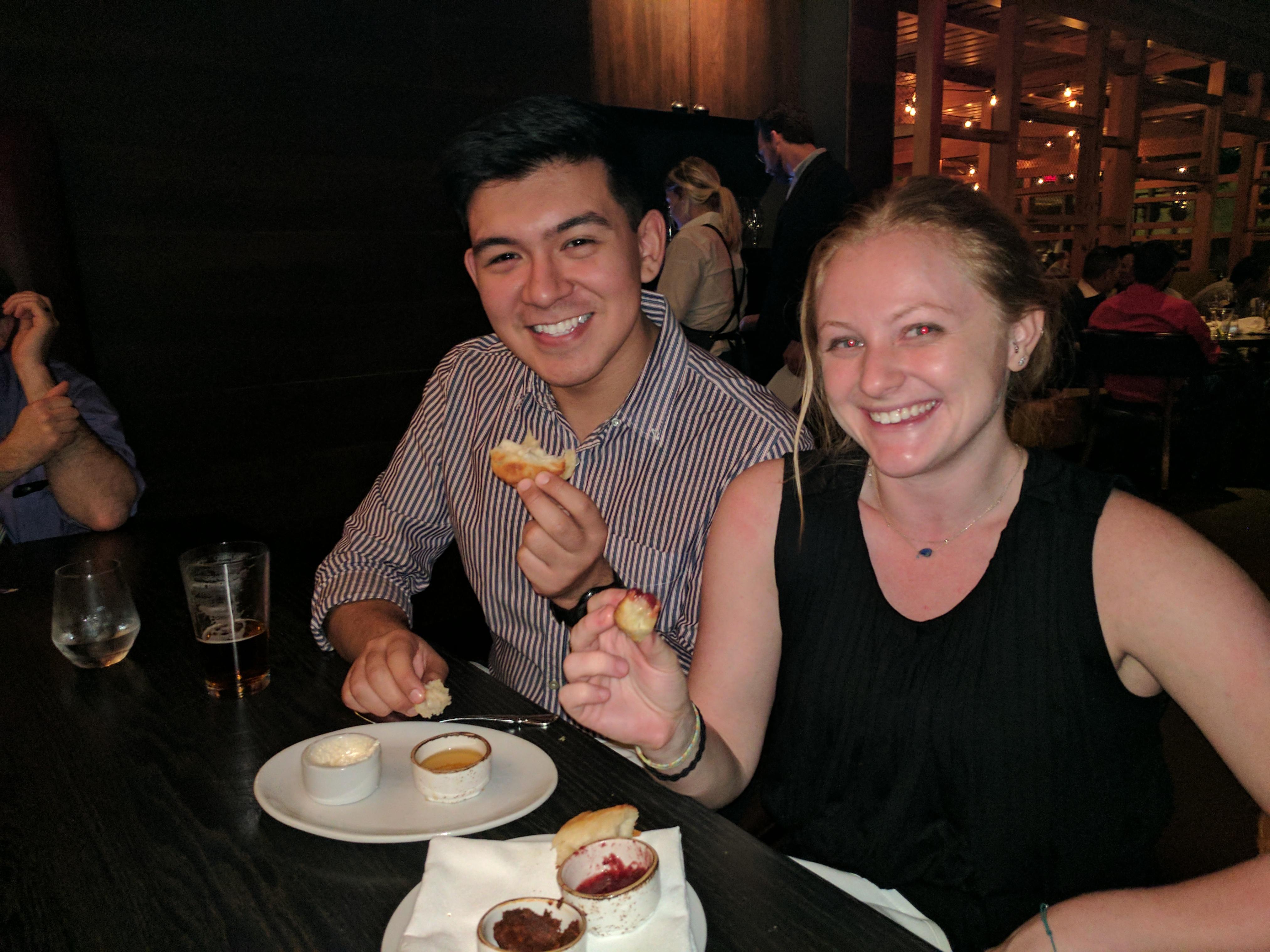 Tito & Callie - Dinner in Austin (SRCD)