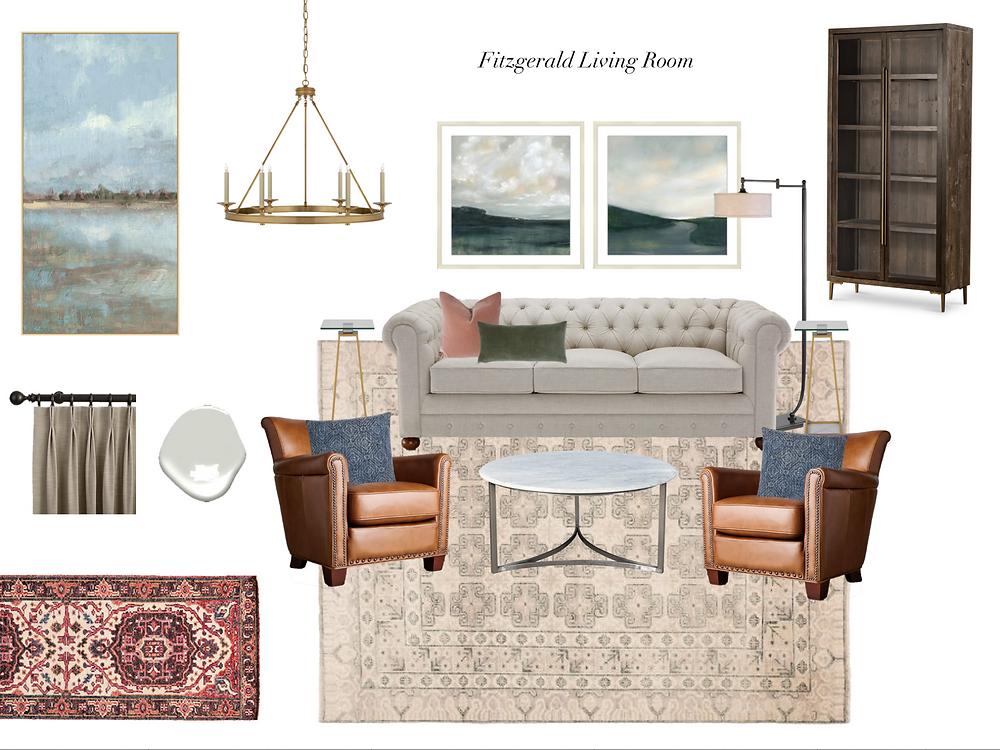 living room design by lauren figueroa