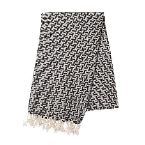 Black Diamond Turkish Towel
